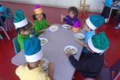 I Can Cook (Arabic Activity) Pre School Classes 1st Dec 2015