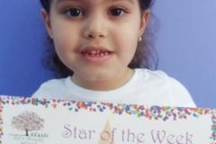 Star Of The Week (Pre School Classes) 05-05-2016