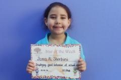 Star of The Week (Pre School Classes) 19-05-2016