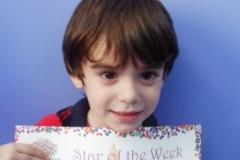 Star of the Week (Pre School Classes) 26-05-2016