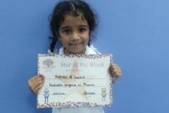 Star of the week pre-school classes 28-04-2016
