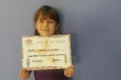 Star Of The Week (Pre School Classes) 31-03-2016