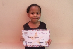 Star Of The Week (Reception Classes) 05-05-2016