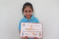 Star of The Week (Reception Classes) 19-05-2016