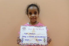 Star Of The Week (Reception Classes) 21-04-2016