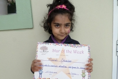 Star Of The Week (Reception Classes) 31-02-2016